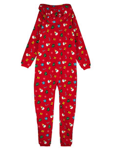 Red PAJAMAS GEMISURNO / 19WH12T1D4SF505