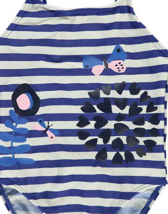 Girls' swimsuit CYAMER1 / 18SI0183MAI707