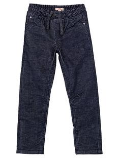 Navy pants GOTUPAN1 / 19W902Q1PAN705