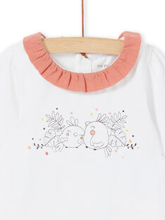 White and pink body for girls LOU1BOD4 / 21SF03H2BOD000