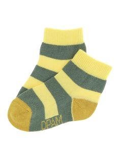 Baby boys' ankle socks CYUJOCHO7B / 18SI10S2SOQ099