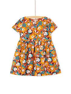 Light brown DRESS KAGOROB1 / 20W901L1ROB420