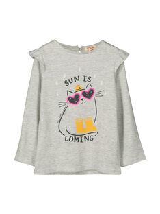 Heather grey T-shirt FALITEE1 / 19S90121TML943