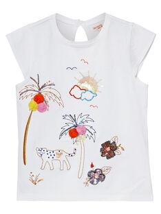 Off white T-shirt JATROTI2 / 20S901F1TMC001