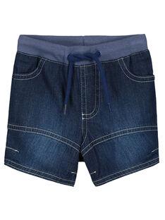 Baby boys' denim shorts FUJOBERMU6 / 19SG10G3BER704