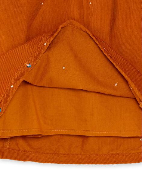 Light brown DRESS KAGOROB2 / 20W901L4ROB420