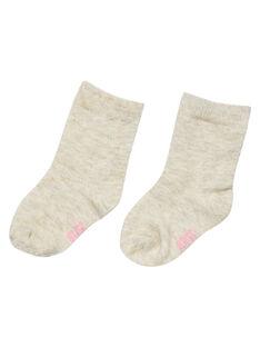 Heather beige Socks GYIJOCHO3 / 19WI0933SOQA011