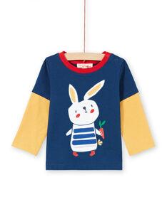 Baby Boy's Navy & Red T-Shirt MUMIXTEE3 / 21WG10J2TML713