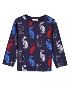 Heather blue T-shirt GOTRITEE2 / 19W902J3TMLC224