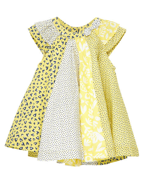 Sunny yellow Dress JITROROB1 / 20SG09F1ROB102