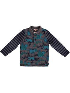Grey Polo shirt GOTUPOL / 19W902Q1POLJ921