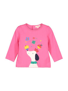 Baby girls' long-sleeved T-shirt FICOTEE / 19SG0981TML030