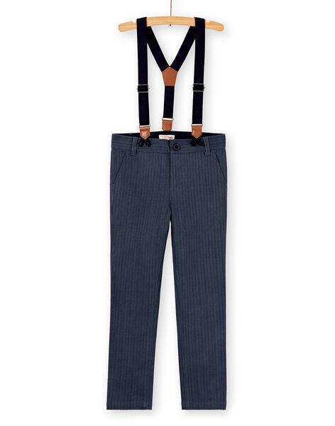 Grey PANTS KONOPAN / 20W902Q1PAN940