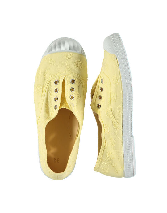 Yellow Sneakers FFTENBROD2 / 19SK35B5D16010