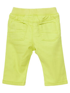 Yellow pants JUCLOPAN / 20SG1011PANB105