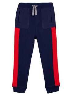 Navy pants GOSANPAN1 / 19W902C2PAN070
