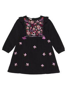 Dark brown Dress GABRUROB4 / 19W901K2ROBI813