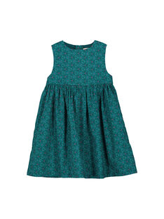 Girls' sleeveless dress FATOROB5 / 19S901L5ROB099