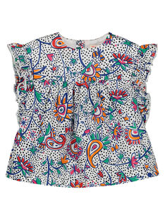 Baby girls' printed smock FITOCHEM / 19SG09L1CHE000