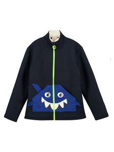 Blue Waistcoat GOBLAGIL / 19W902S1GILC243