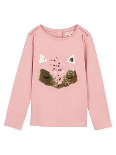 Pink t-shirt GAJAUTEE2 / 19W901H2TML303