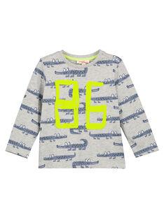 Ash grey T-shirt GOBLATEE2 / 19W902S3TML927