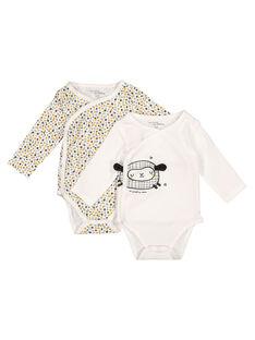 Pack of unisex babies' bodysuits GOU1BOD1 / 19WF7713BOD001