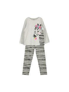 Girls' fancy pyjamas FEFAPYJZEB / 19SH1145PYJ943