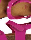 Girls? smart patent sandals FFNUVERN2 / 19SK35DBD0E304