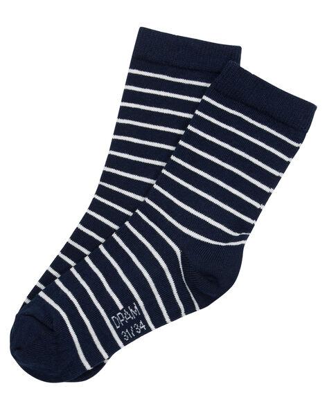 Navy Socks JYOJOCHOR1 / 20SI0258SOQ705