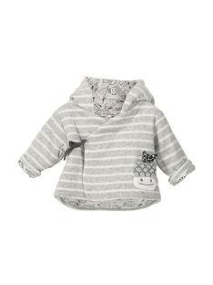 Unisex babies' hooded jacket FOU1VES / 19SF0511VES099