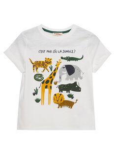 Off white T-shirt JODUTI4 / 20S902O2TMC001