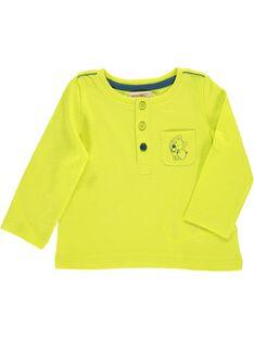 Baby boys' long-sleeved T-shirt CUJOTUN2B / 18SG10R7TML117