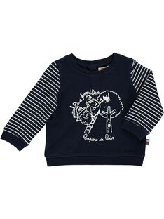 Navy Sweat Shirt CUKLESWE / 18SG10D2SWE705