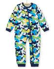 Supyjama child boy in camouflage print brushed fleece LEGOCOMBI / 21SH1211D4FJ920