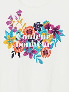 Floral print short sleeve t-shirt LAMUMTI2 / 21S901Z1TMC001