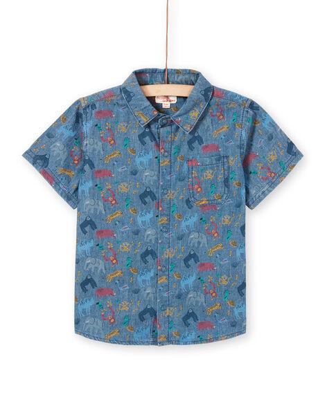 Boy's short sleeve shirt LOVICHEM / 21S902U1CHM721