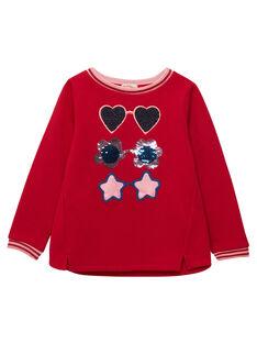 Red Sweat Shirt JAGRASWEA / 20S901E1SWE050