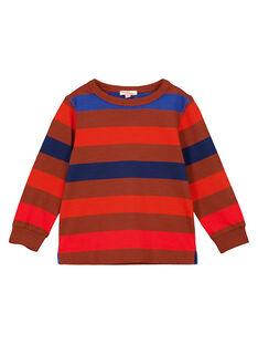 Brown T-shirt GOSANTEE1 / 19W902C4TML817