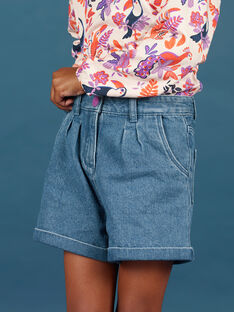 Girl's denim shorts MAPASHORT / 21W901H1SHOP269