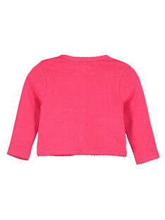 Baby girls' cotton cardigan FIYECAR / 19SG09M1CAR304
