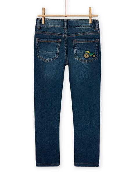 Boy's medium denim jeans MOCOJEAN / 21W902L1JEAP274