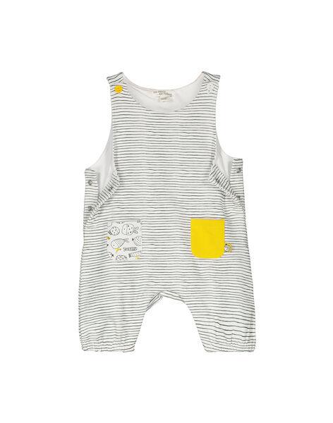 Unisex babies' padded dungarees FOU1SAL / 19SF0511SAL099