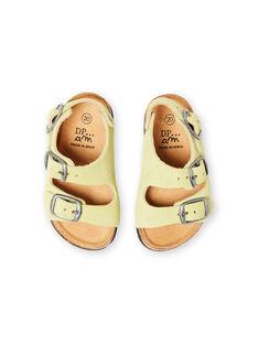 Baby Boy Plain Green Sandals LBGNUVERT / 21KK3853D0E602