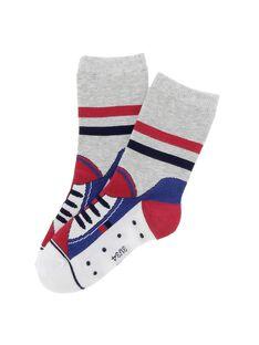 Boys' mid length socks CYODECHO / 18SI02F1SOQJ908