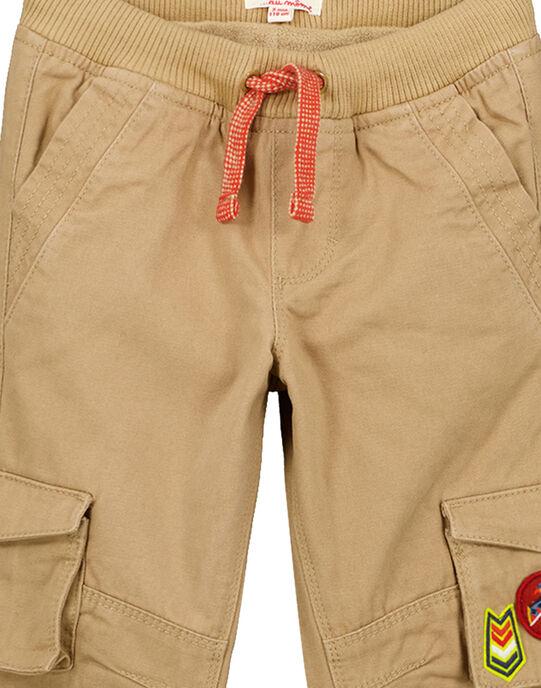 Brown pants GOVIOPAN2 / 19W902R2PANI804