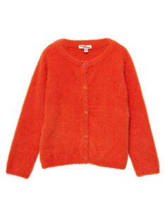 Light orange Cardigan JAVICAR / 20S901D1CAR406