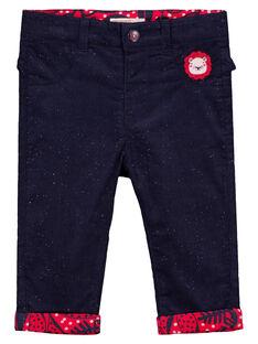 Navy pants GITRIPAN / 19WG09J1PAN070