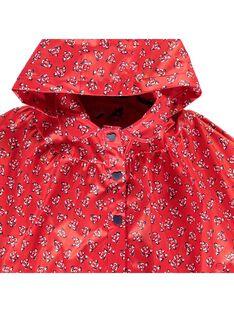 Baby girls' rain poncho CIDECAPE / 18SG09F1CPE099