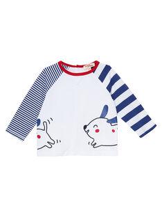 White T-shirt JUGRATEE2 / 20SG10E2TML000